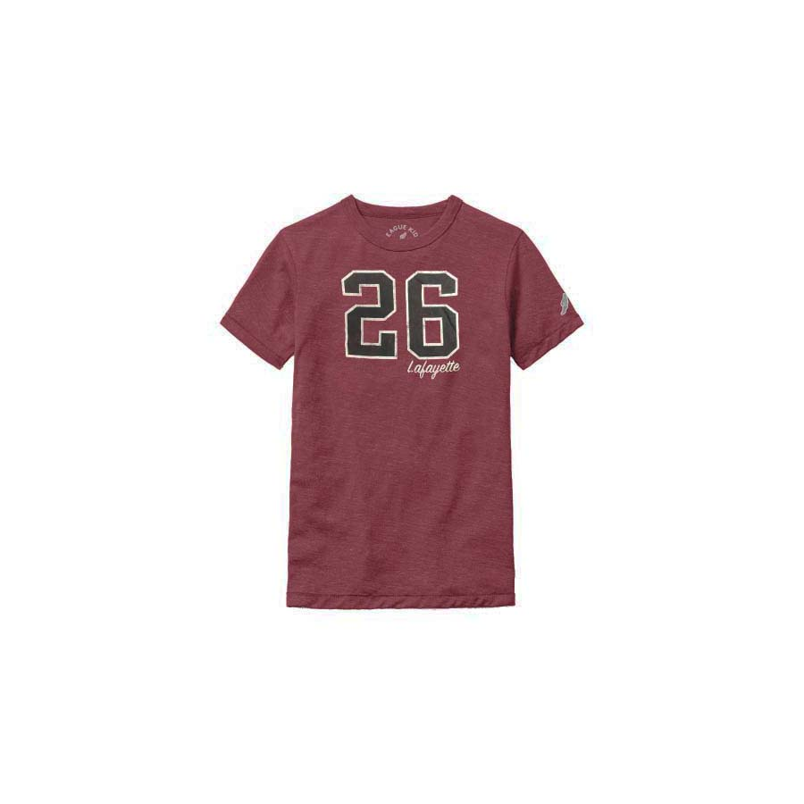 Image For KIDS TEE SS 26 MAROON