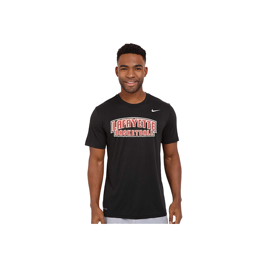 Image For TEE BASKETBALL BLK BCS
