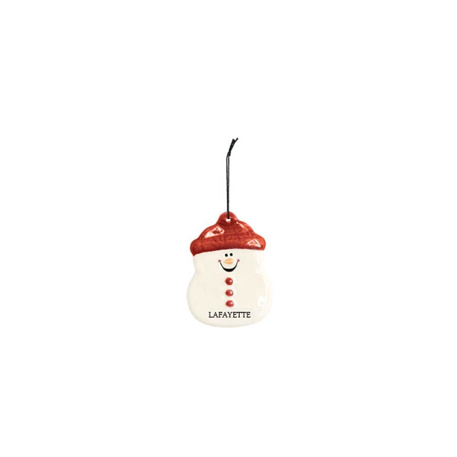 Image For SNOWMAN ORNAMENT