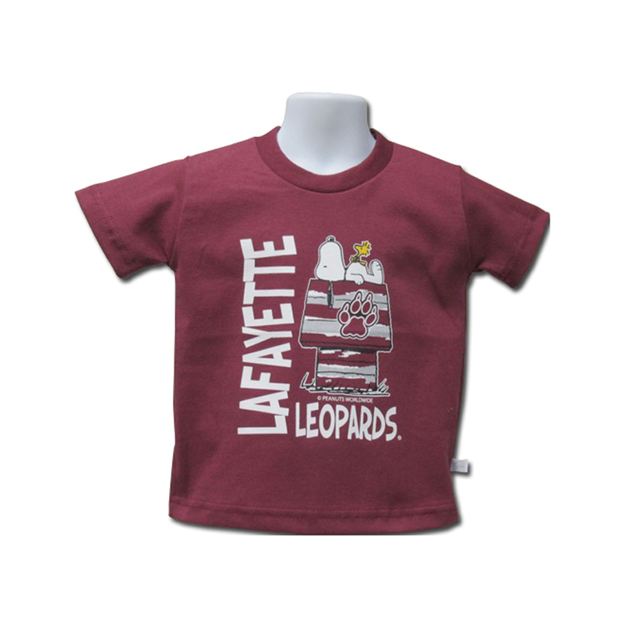 Image For SNOOPY TEE MAROON GARB