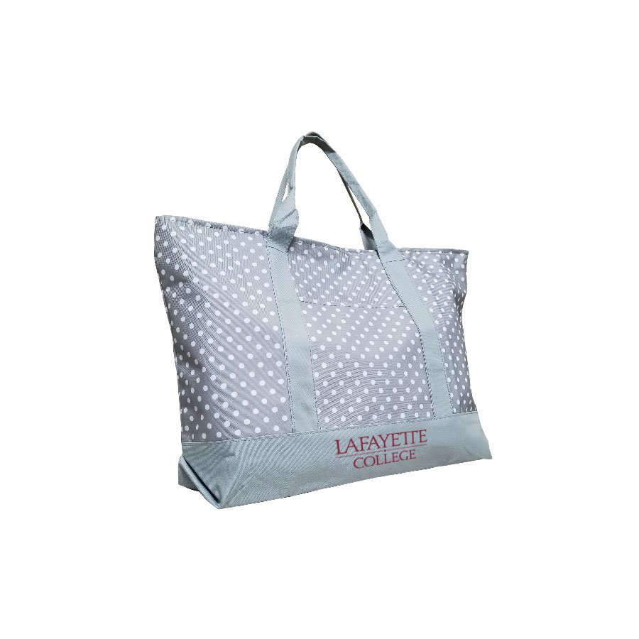 Image For TOTE GREY DOT