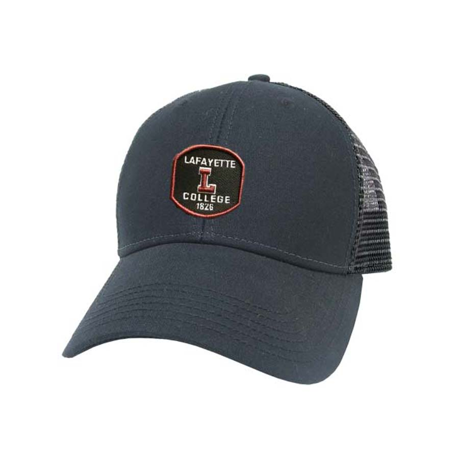 Image For CAP BLACK TRUCKER LAF L