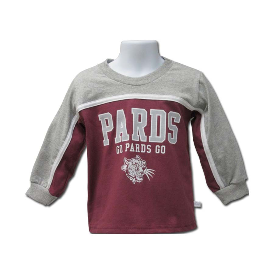 Image For TODDLER LS TEE PARDS