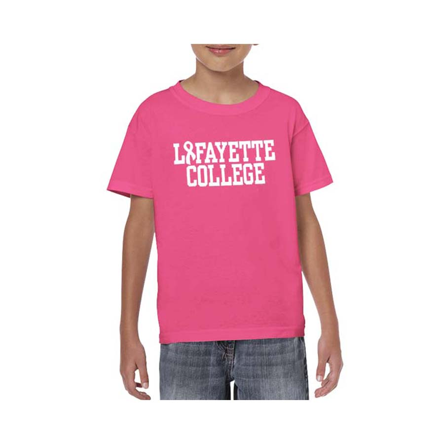Image For YOUTH TEE PINK AWRNSS