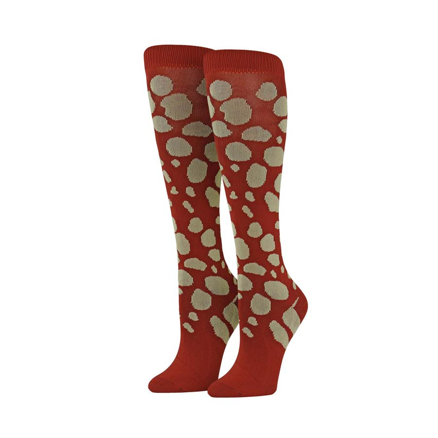Image For SOCK MOROCCAN RED LARGE