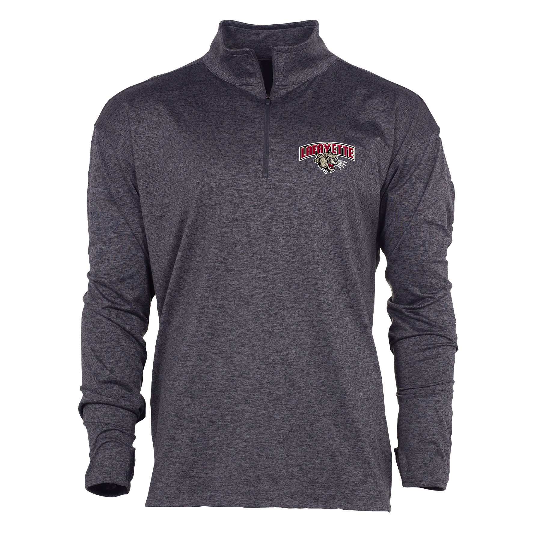 Image For SWERVE 1/4 ZIP CHARCOAL