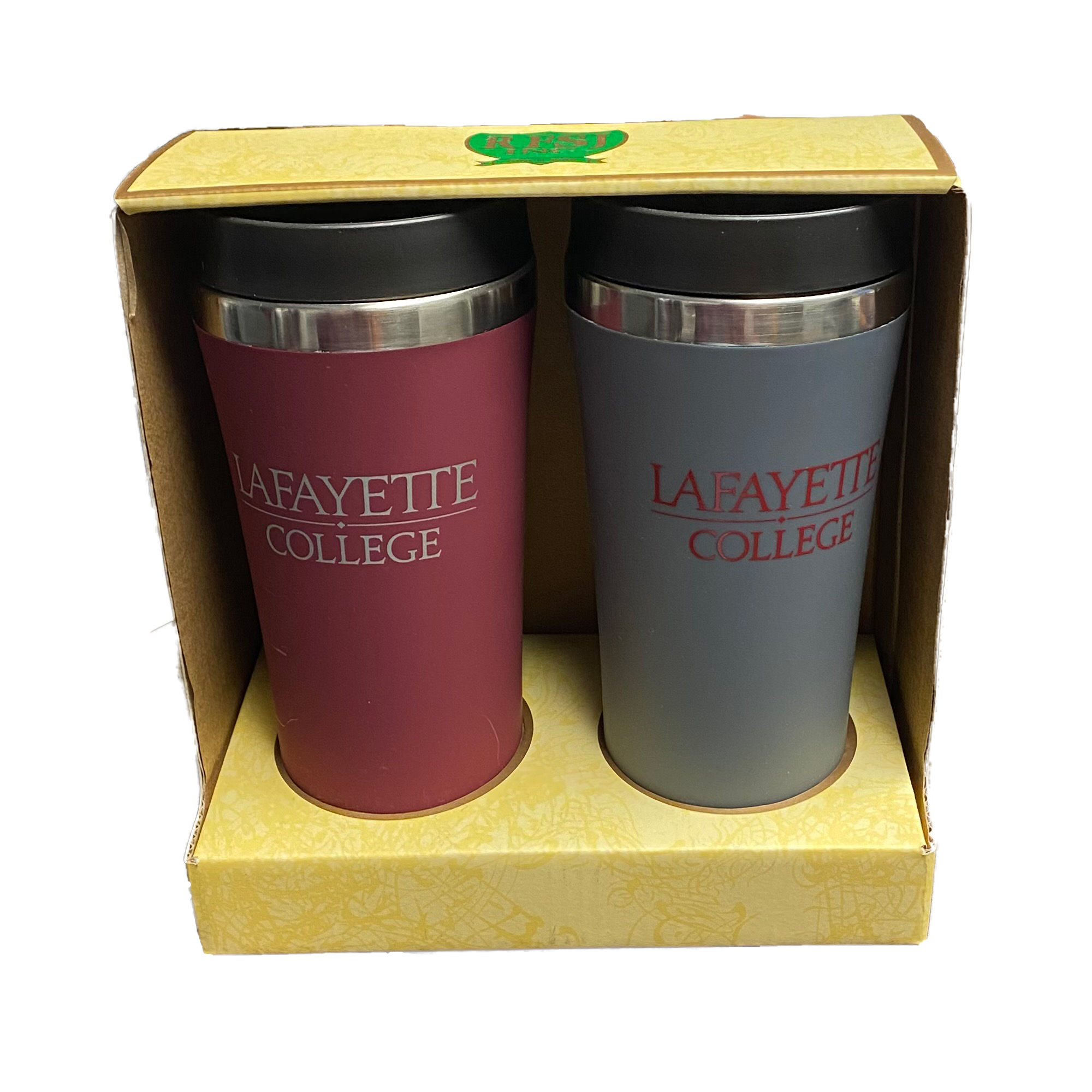 Image For MAROON/GRAY TUMBLER SET