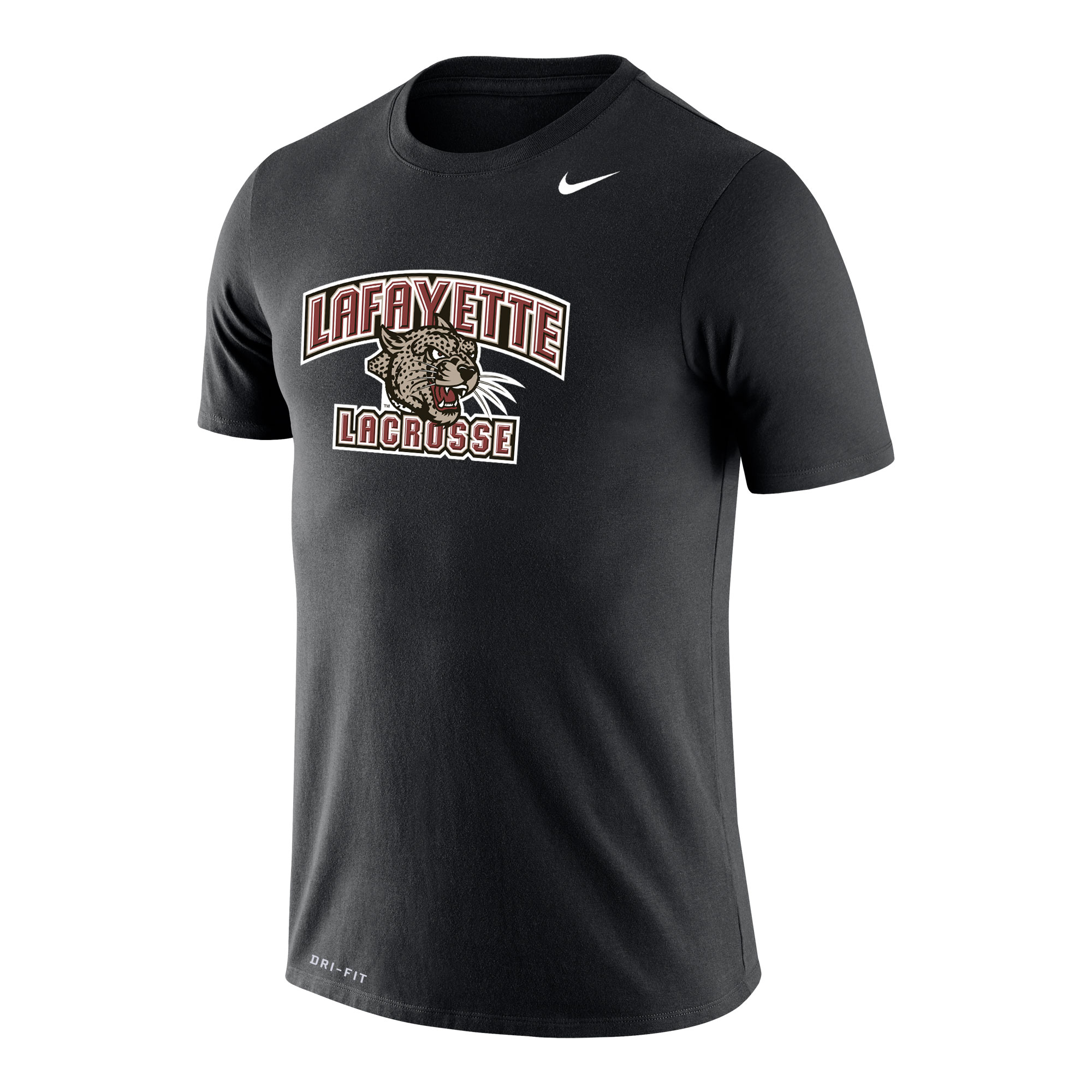 Image For NIKE LACROSSE BLK TEE